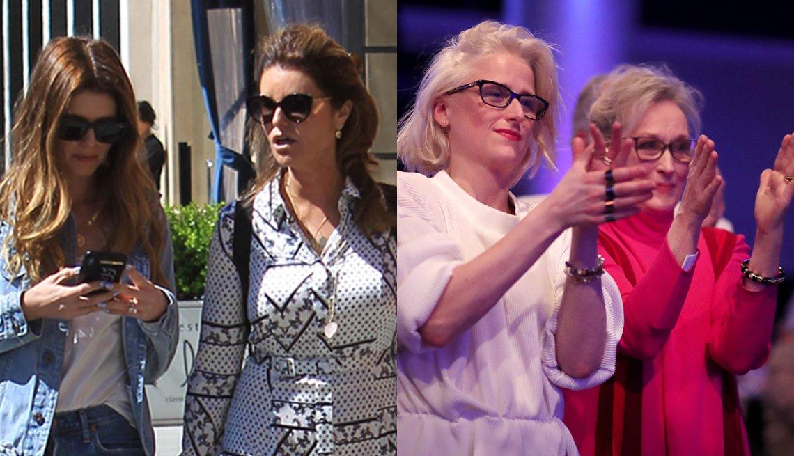 item 3, Gallery image. (l to r): Maria Shriver and Katherine Schwarzenegger; Mamie Gummer and Meryl Streep