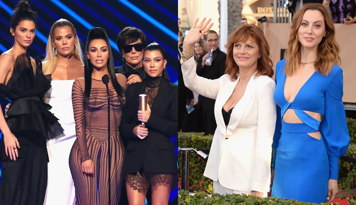 item 12 of Gallery image -  Kris Jenner with Kendall, Khloe, Kim and Kourtney; Susan Sarandon and Eva Amurri