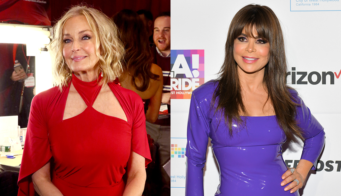 item 5 of Gallery image - Bo Derek still luminous in full makeup; Paula Abdul looks lit from within even with real makeup.