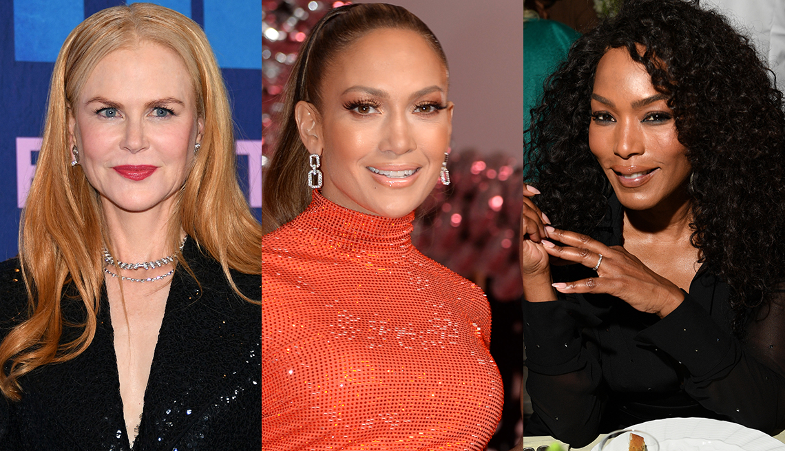item 2 of Gallery image - Jennifer Lopez knows moisture plus makeup equal success; Nicole Kidman has cared for skin, for sure; Angela Bassett has a flawless-looking complexion... Wonder what's her secret?