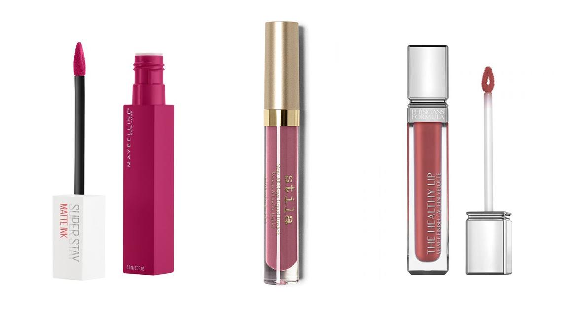 item 6 of Gallery image - Stila Stay All Day Liquid Lipstick; Maybelline Super Stay Matte Ink Lip Color; Physicians Formula Velvet Liquid Lip
