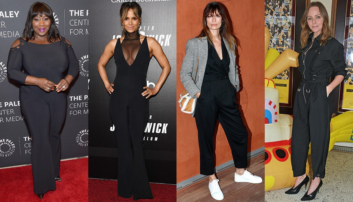 item 9, Gallery image. Bevy Smith, Halle Berry, Model Caroline de Maigret, Designer Stella McCartney