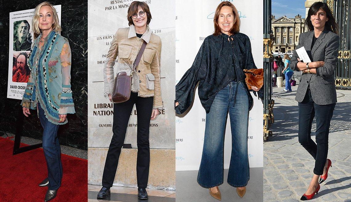 item 2, Gallery image. Bo Derek; Ines de la Fressange; Annette Weber; Emmanuelle Alt, editora de French Vogue