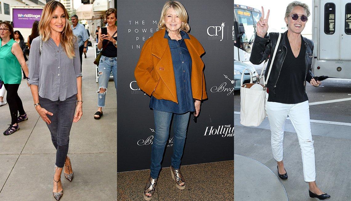 item 4, Gallery image. Sarah Jessica Parker, Martha Stewart, Sharon Stone