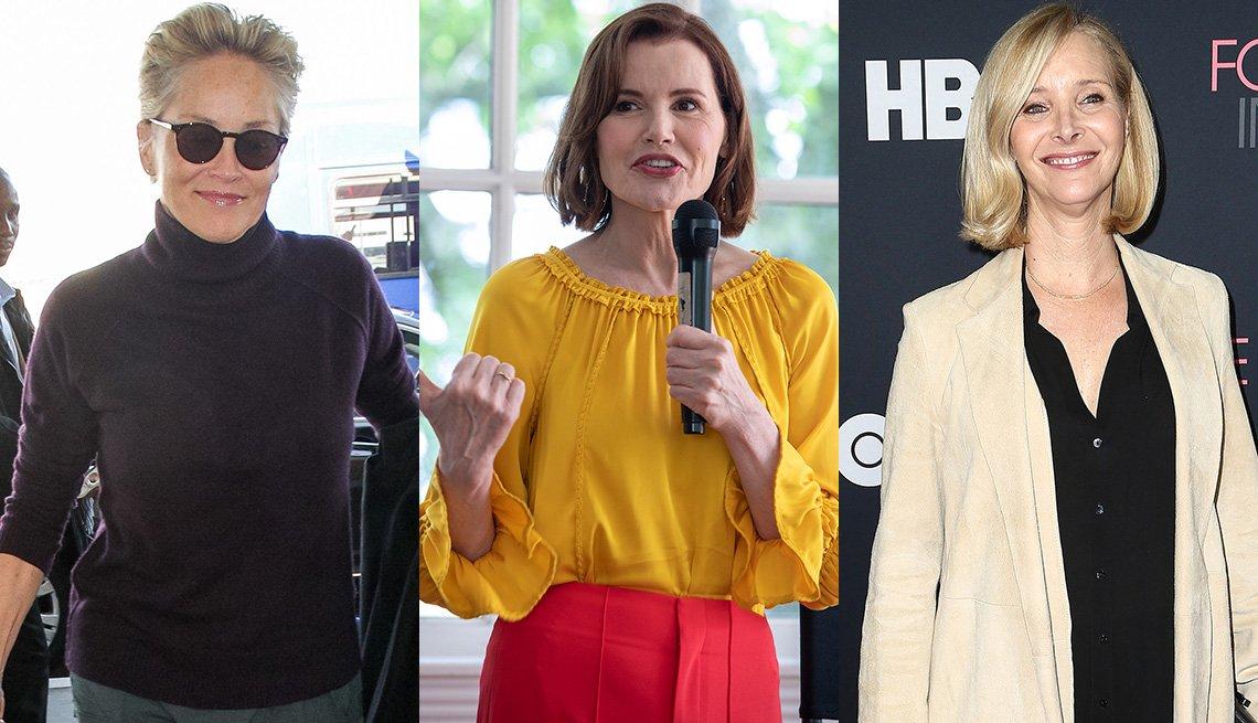 Sharon Stone, Geena Davis, Lisa Kudrow