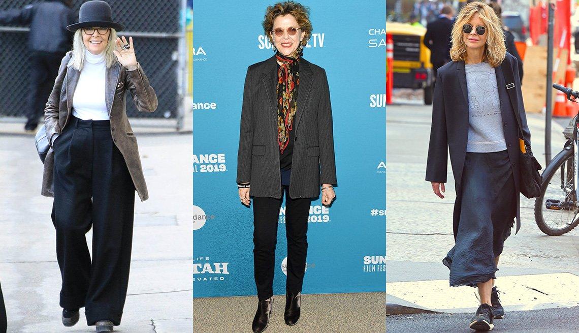 item 5, Gallery image. Diane Keaton; Annette Bening; Meg Ryan
