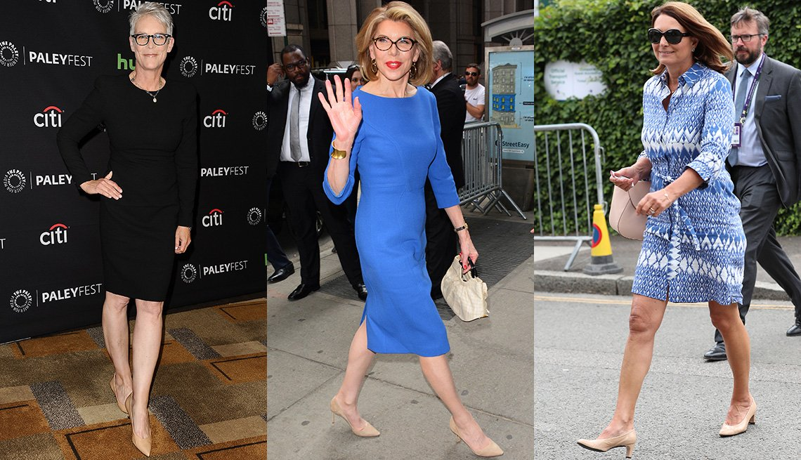 item 3, Gallery image. Jamie Lee Curtis, Christine Baranski, Carol Middleton