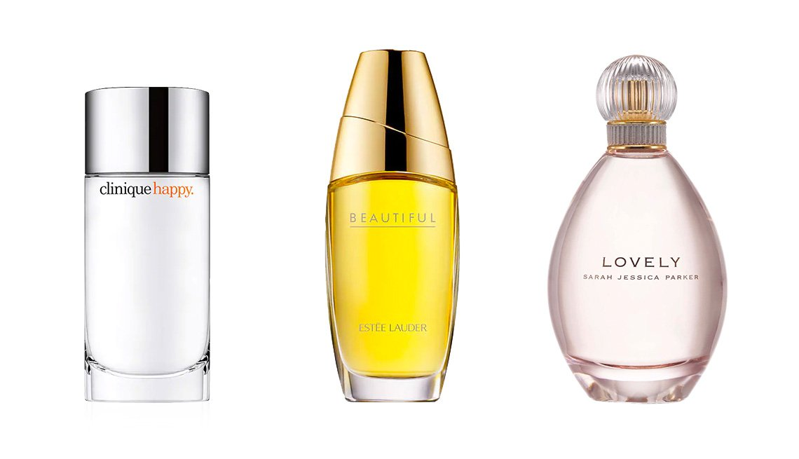 item 7, Gallery image. Clinique Happy Perfume Spray ($30, cvs.com); Estee Lauder Beautiful  Eau de Parfum Spray ($42, cvs.com); Lovely by Sarah Jessica Parker Eau de Parfum ($57, cvs.com)