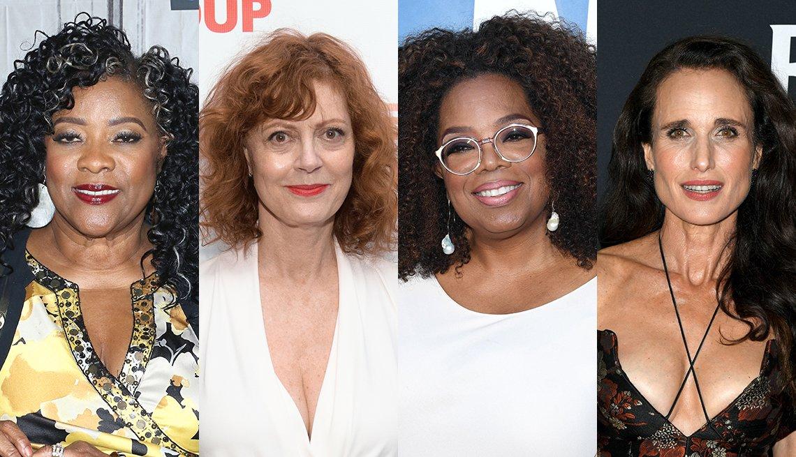 item 1, Gallery image. Loretta Devine, Susan Sarandon, Oprah Winfrey, Andie MacDowell