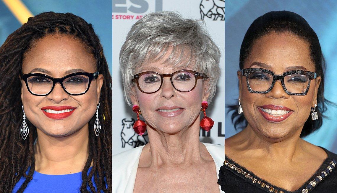 item 1, Gallery image. Ava DuVernay, Rita Moreno, Oprah Winfrey