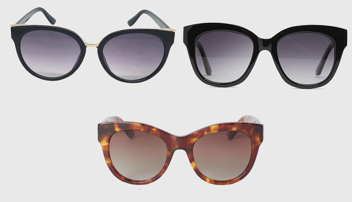 item 10 of Gallery image - (clockwise): A New Day Women's Cat Eye Sunglasses,  Zara Plastic Glasses, H & M Polarized Sunglasses