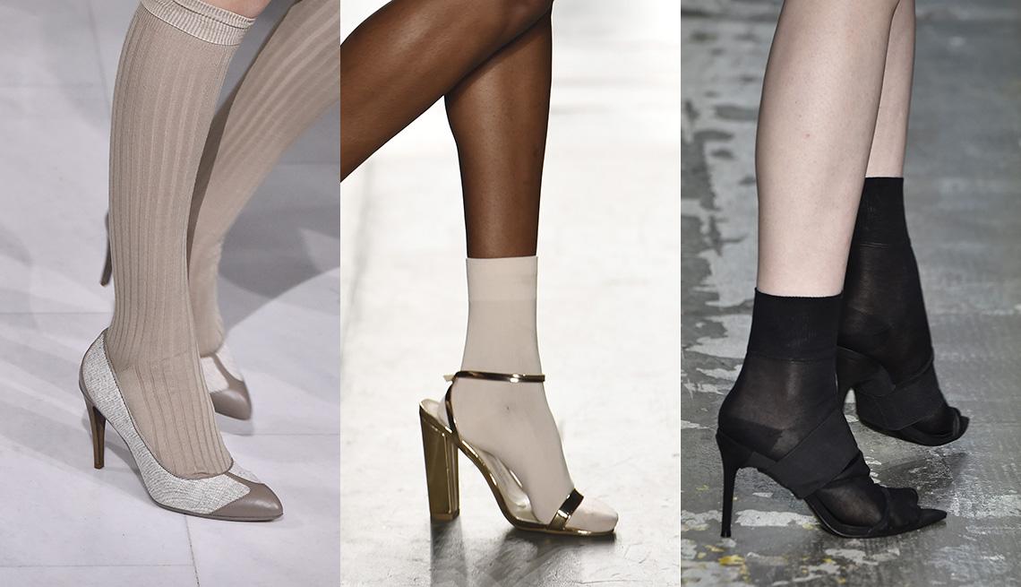 item 2 of Gallery image - Socks with heels