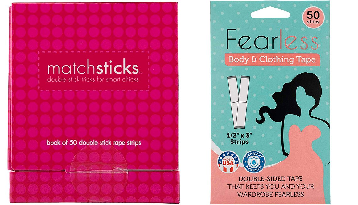 item 5 of Gallery image - Commando Matchsticks Double Stick Tape, Fearless Tape Double Sided for Clothing and Body