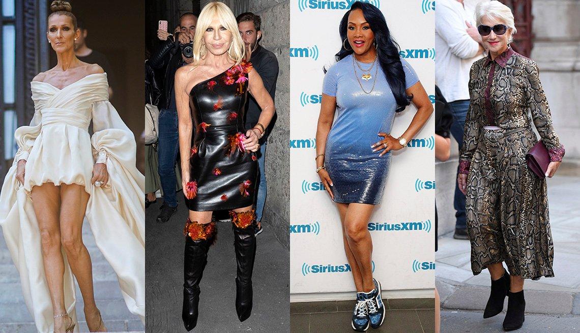 item 1, Gallery image. Celine Dion, Donatella Versace, Vivica A. Fox, Helen Mirren