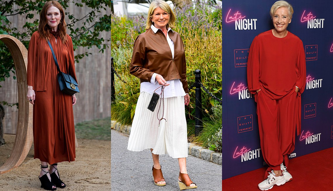 item 9, Gallery image. Julianne Moore, Martha Stewart, Emma Thompson
