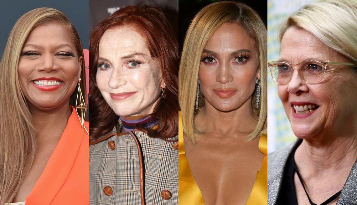 item 10, Gallery image. Queen Latifah, Isabelle Huppert, Jennifer Lopez, Annette Benning