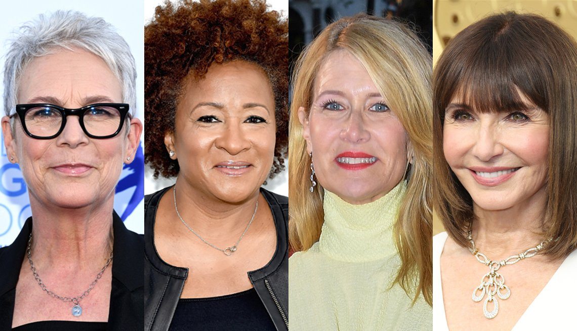 Jamie Lee Curtis, Wanda Sykes, Laura Dern, Mary Steenburgen