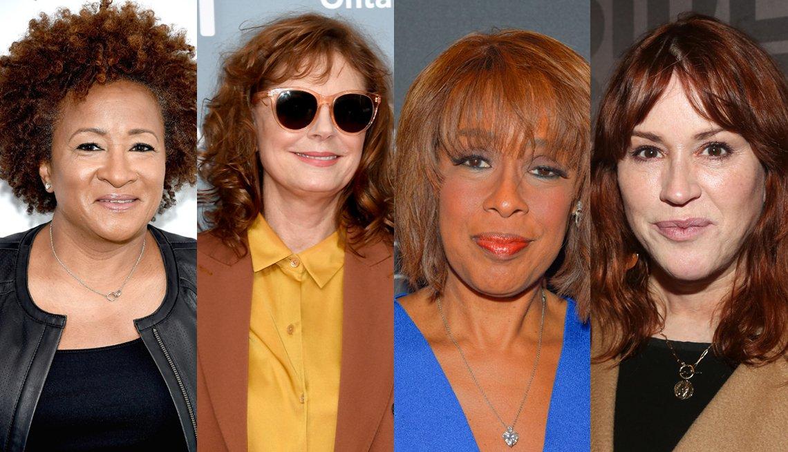 item 8, Gallery image. Wanda Sykes, Susan Sarandon, Gayle King, Molly Ringwald