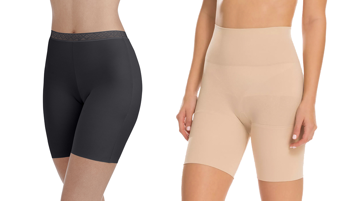 item 2 of Gallery image - Radiant by Vanity Fair Women's Invisible Edge Smoothing Slip-Short Style,