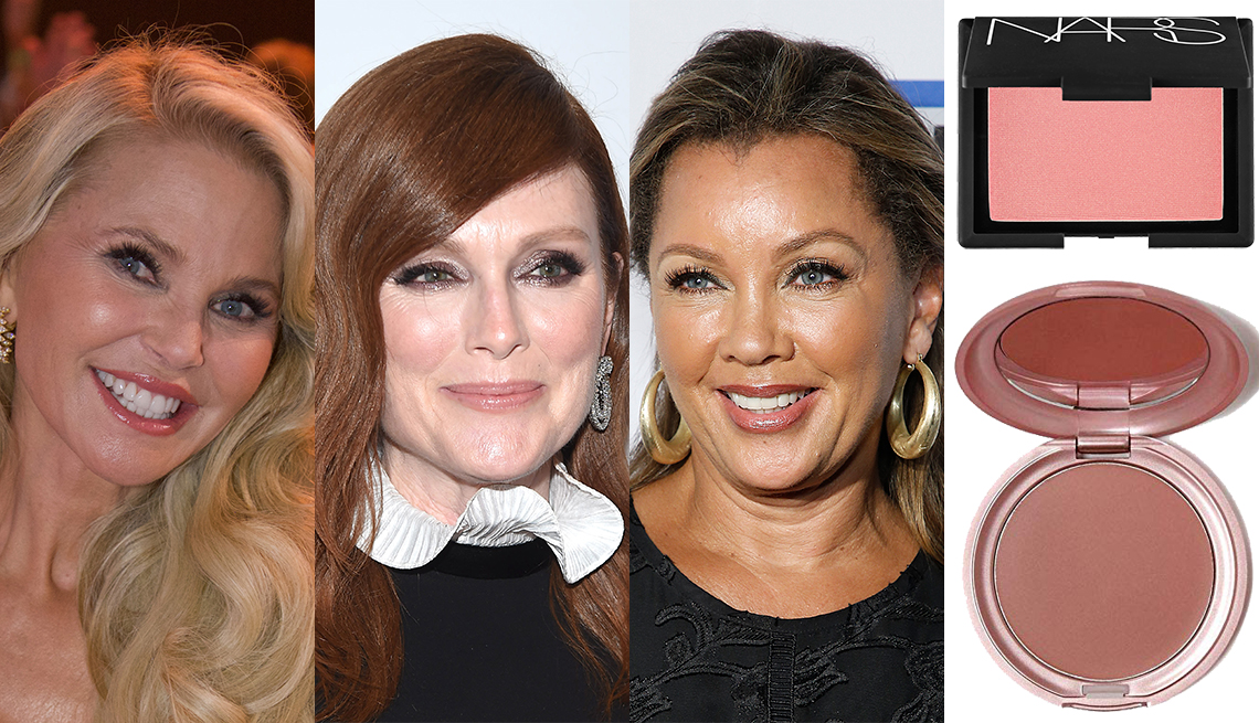item 10 of Gallery image - Christie Brinkley, Julianne Moore, Vanessa Williams, Nars Blush in Orgasm, Stila Convertible Color in Lillium