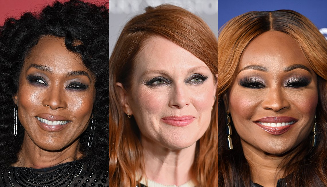 item 4, Gallery image. Angela Bassett, Julianne Moore, Cynthia Bailey