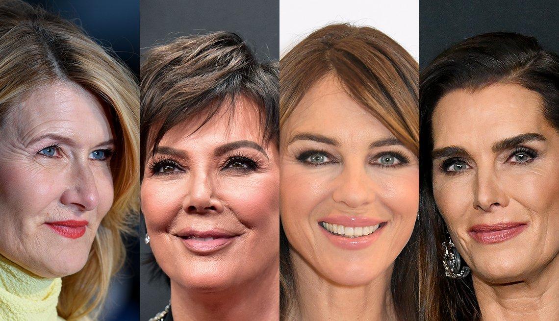 item 7, Gallery image. Laura Dern, Kris Jenner, Elizabeth Hurley, Brooke Shields