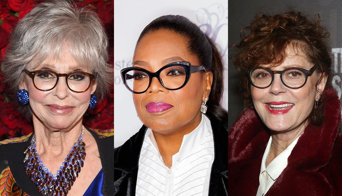 item 5, Gallery image. Rita Moreno, Oprah Winfrey, Susan Sarandon