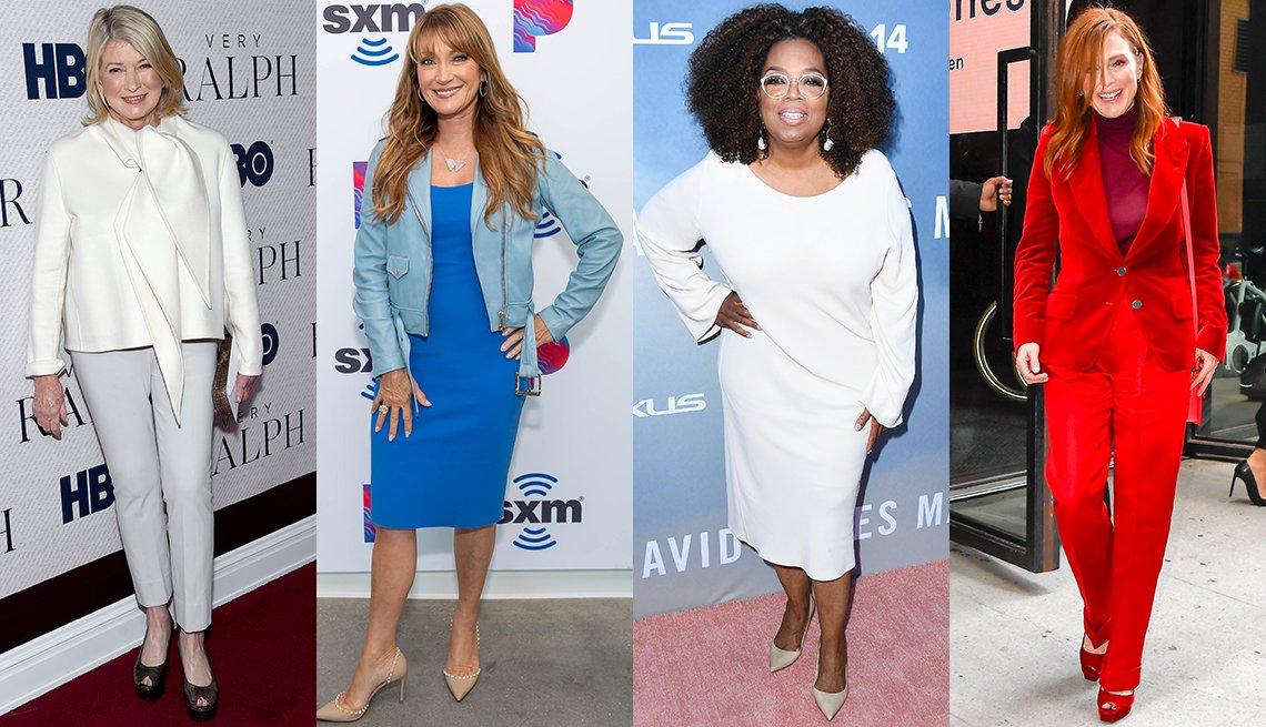 item 2, Gallery image. Martha Stewart, Jane Seymour, Oprah Winfrey, Julianne Moore