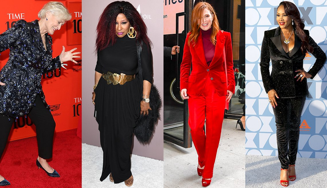 Glenn Close, Chaka Khan, Julianne Moore, Vivica A. Fox
