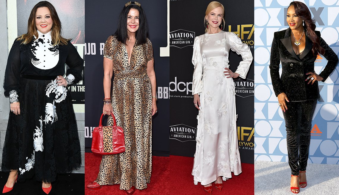 item 10, Gallery image. Melissa McCarthy, Maria Conchita Alonso, Nicole Kidman, Vivica A. Fox
