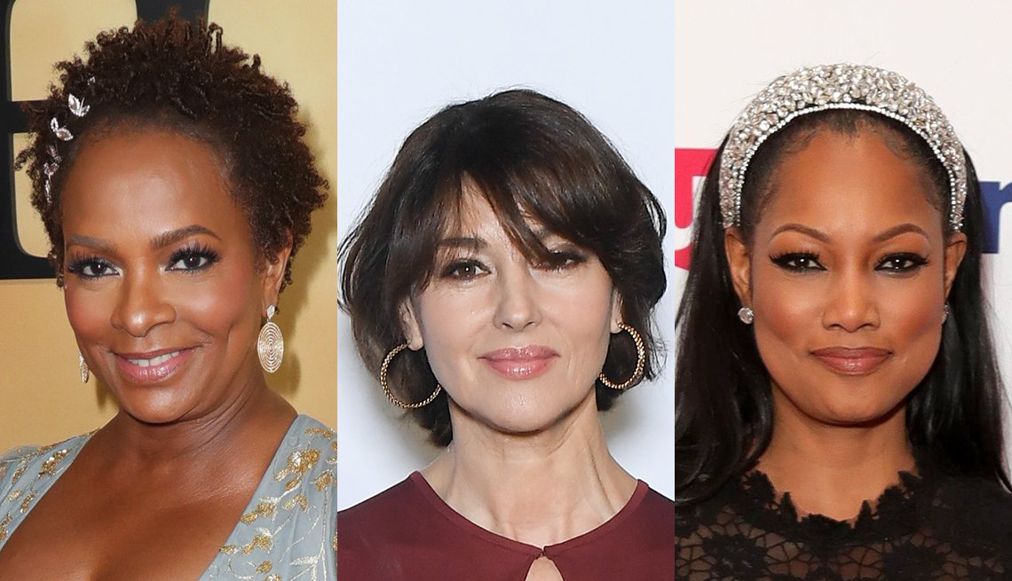 item 4, Gallery image. Vanessa Bell Calloway, Monica Bellucci, Garcelle Beauvais