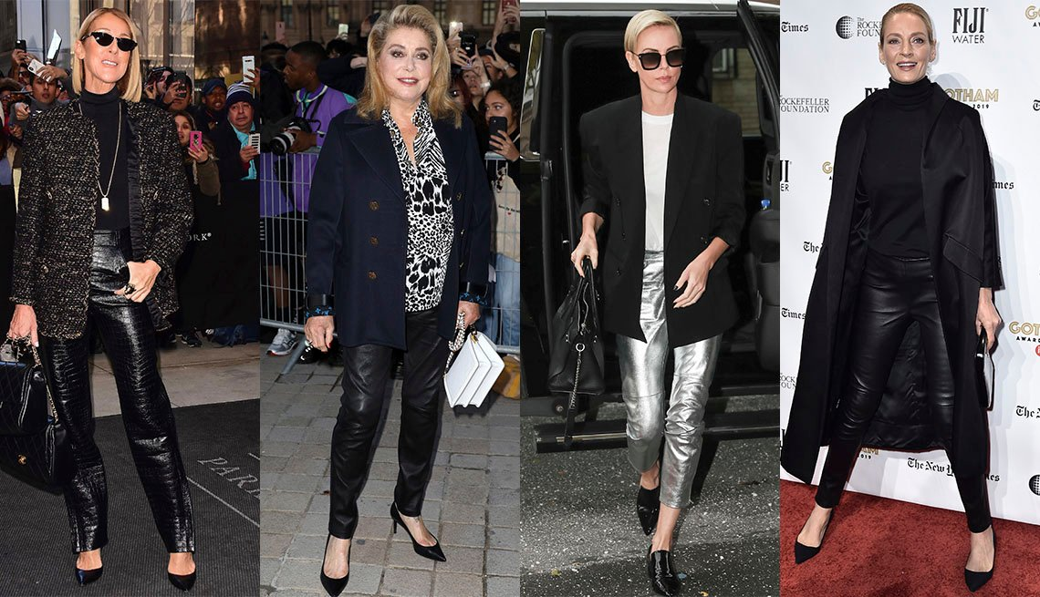 item 8 of Gallery image - Celine Dion, Catherine Deneuve, Charlize Theron, Uma Thurman