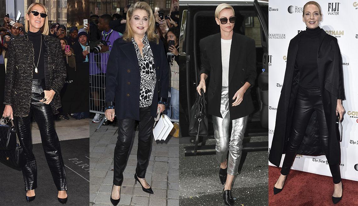 item 9 of Gallery image - Celine Dion, Catherine Deneuve, Charlize Theron, Uma Thurman