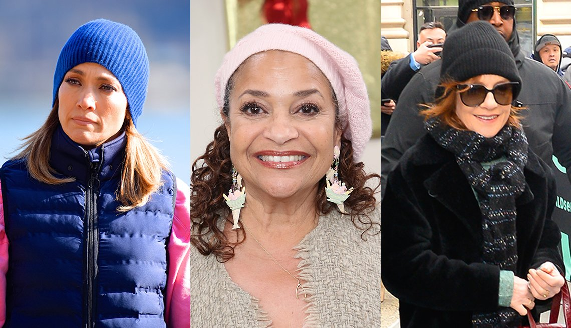 item 1, Gallery image. Actresses Jennifer Lopez (left), Debbie Allen (middle) and Isabelle Huppert