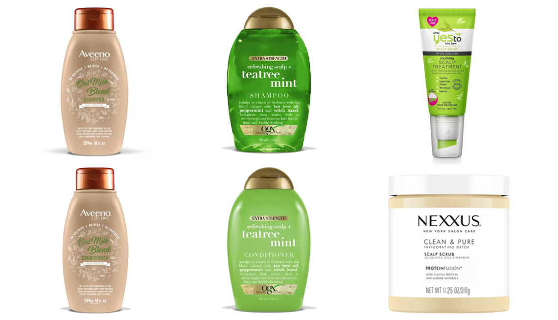 item 7 of Gallery image - A variety of shampoos conditioners and other dry scalp treatment products