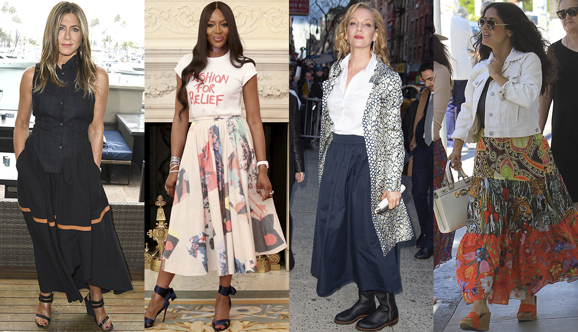 item 11 of Gallery image - Jennifer Aniston, Naomi Campbell, Uma Thurman, Salma Hayek