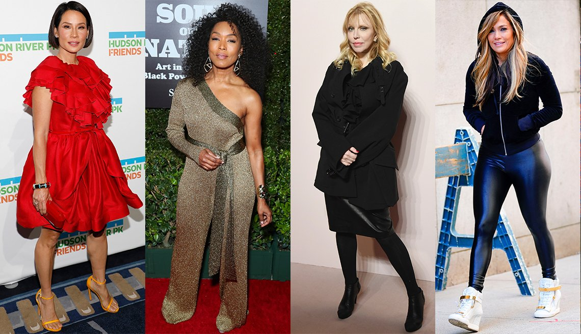 Lucy Liu, Angela Bassett, Courtney Love, Jennifer Lopez