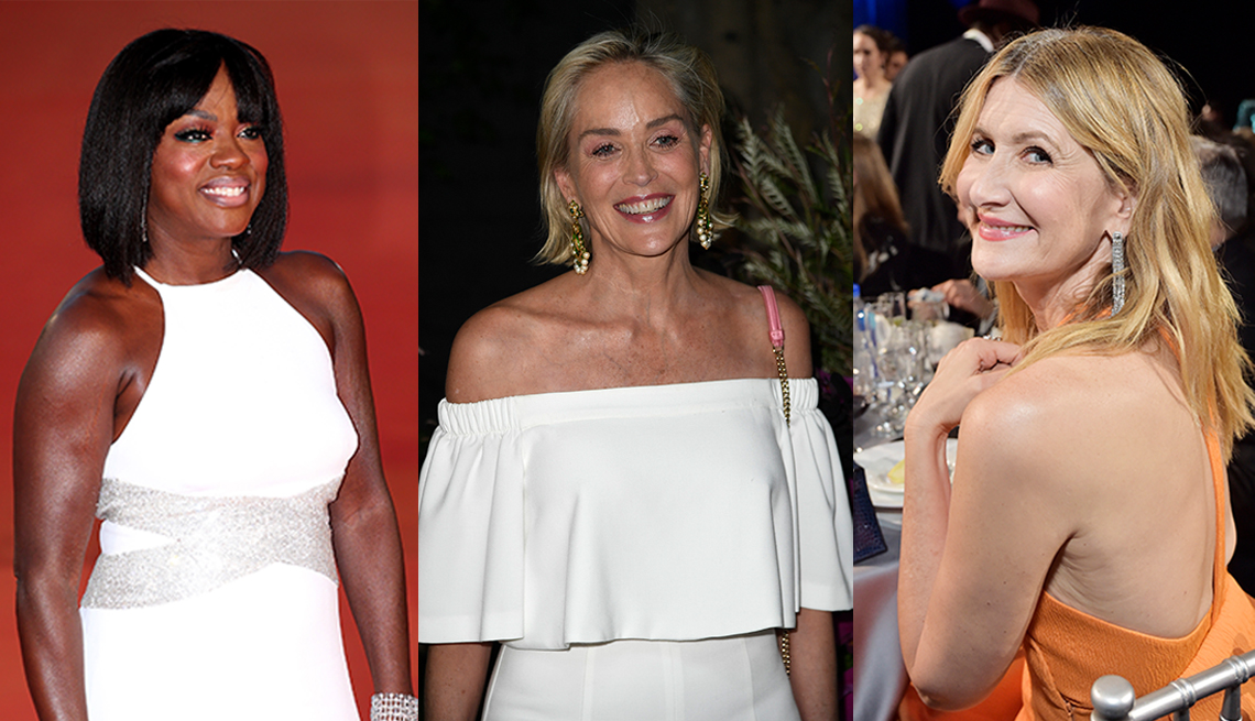 item 8 of Gallery image - Actresses Viola Davis Sharon Stone and Laura Dern