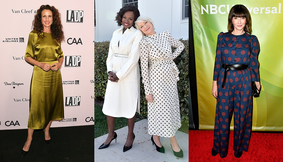 Andie MacDowell Viola Davis Helen Mirren and Mary Steenburgen