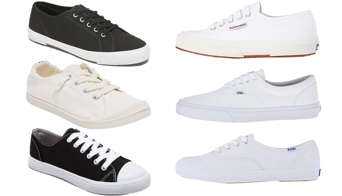 item 7 of Gallery image - Old Navy Canvas Sneakers Superga 2750 COTU Classic Sneaker Vans Era Keds Champion Leather CVO Universal Thread Bayla Lenia Wo's Vulcanized Canvas Sneakers and Mad Love Lennie Sneakers