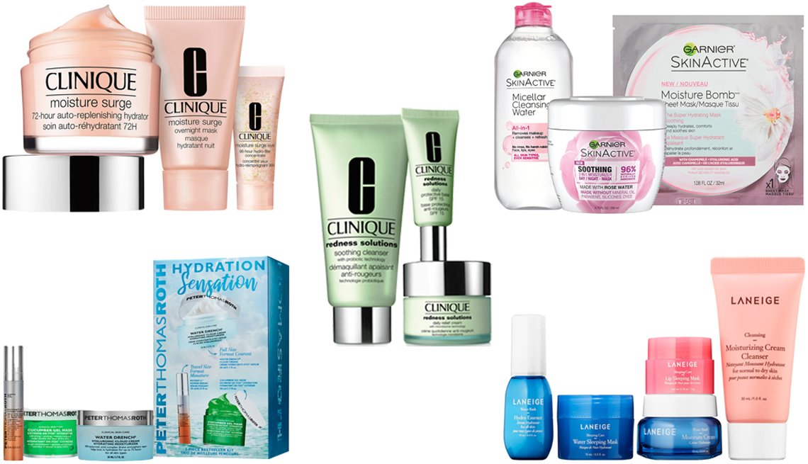 item 2 of Gallery image - Clinique Redness Solutions Redness Regimen Garnier Skin Active Sensitive Skin Kit Laneige Hydration To Go Normal to Dry Skin Peter Thomas Roth Hydration Sensation Clinique Skin Care Specialists 72 Hour Hydration Set