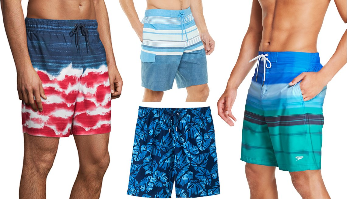 Mens Beach Shorts Classic Music Swimsuit Trunks Jogging Vacation Home