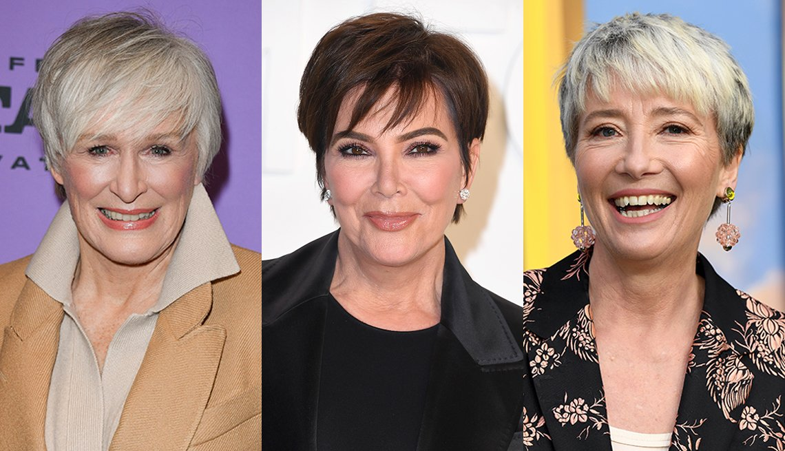 item 7, Gallery image. Glenn Close, Kris Jenner y Emma Thompson