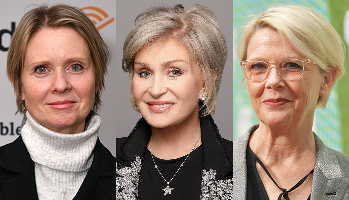 item 8 of Gallery image - Cynthia Nixon Sharon Osbourne and Annette Bening