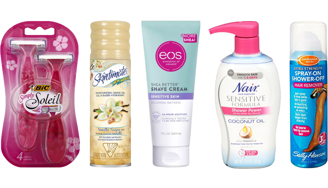 item 10 of Gallery image - BIC Simply Soleil for Women Disposable Shaver Skintimate Vanilla Sugar Womens Shave Gel e o s Shea Better Shave Cream Sensitive Skin Nair Shower Power Sensitive Formula Hair Remover Sally Hansen Spray On Shower Off Hair Remover