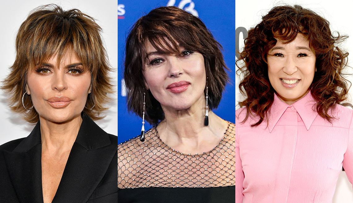 item 4 of Gallery image - Lisa Rinna Monica Bellucci and Sandra Oh