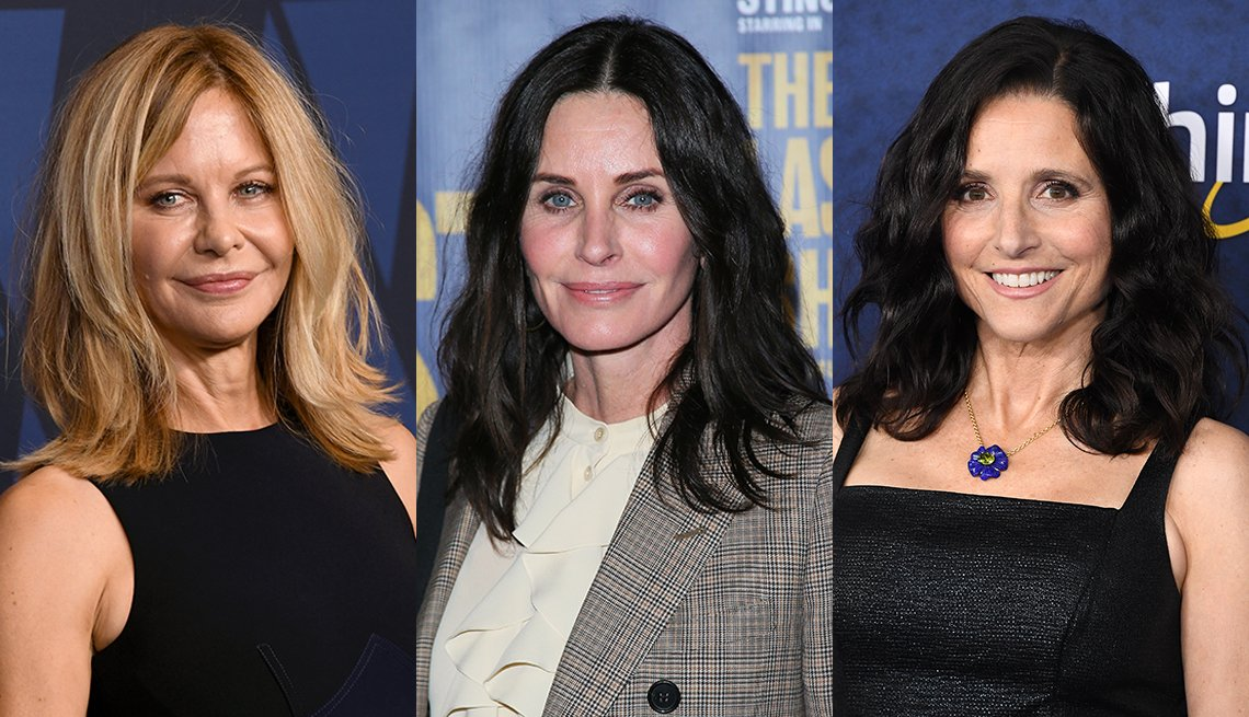 item 10, Gallery image. Meg Ryan, Courteney Cox y Julia Louis-Dreyfus