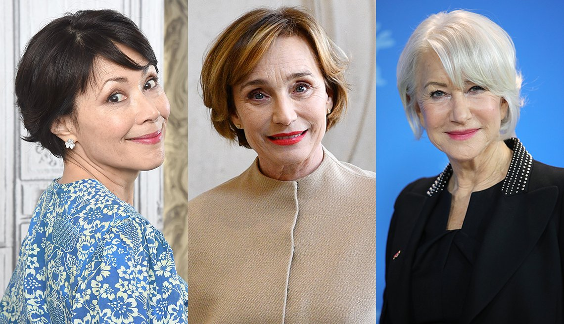 item 5, Gallery image. Ann Curry, Kristin Scott Thomas y Helen Mirren