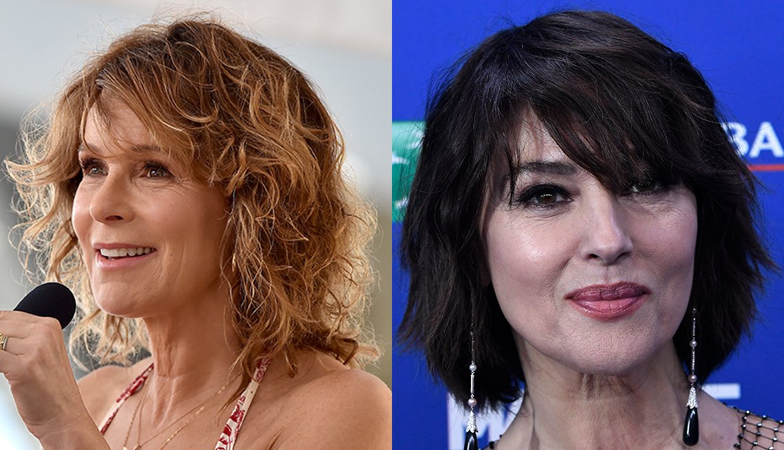 item 9 of Gallery image - Actresses Jennifer Grey and Monica Bellucci
