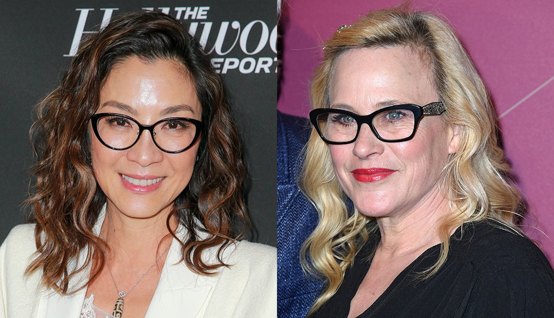 item 10, Gallery image. Michelle Yeoh (left) and Patricia Arquette